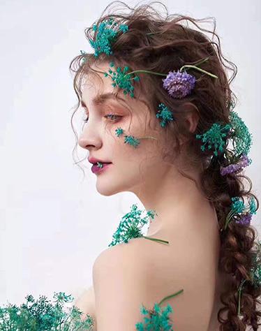 化妆造型作品—蒹葭