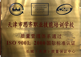 质量管理体系ISO9001:2000国际标准认证