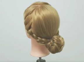 化妆盘发-生活盘发