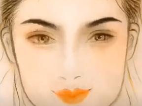 不同脸型适合的眉形