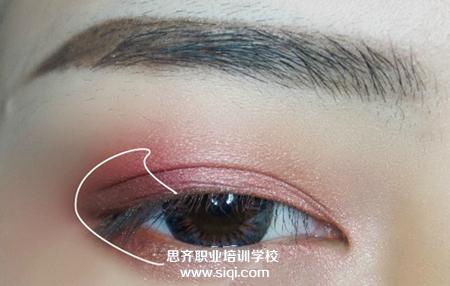 天津思齐化妆学校 眼妆教学