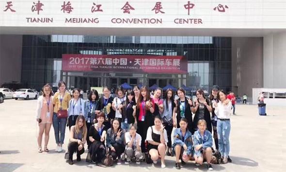 化妆实践:思齐化妆组受邀为国际汽车工业展活动做化妆