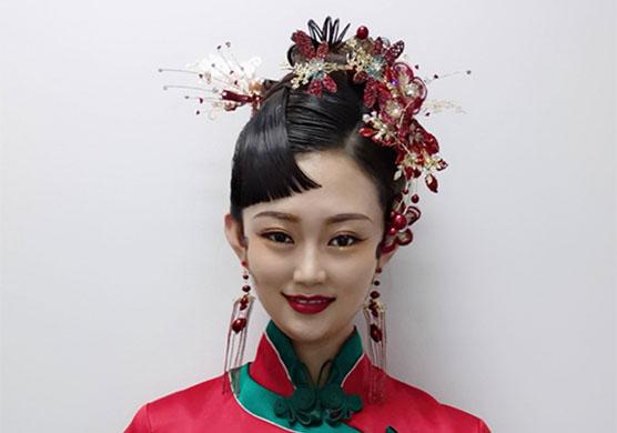 古典秀美的中式新娘造型